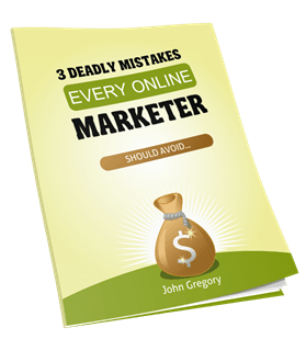 3 Deadly Mistakes causing people to Fail at Making Money Online